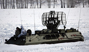 Exercises by air defense forces to detect air targets held in the Arctic