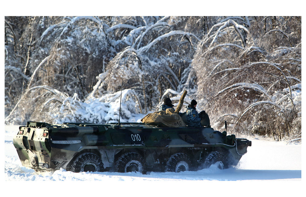 Arktika, an all-terrain armored personnel carrier, to be designed in Russia
