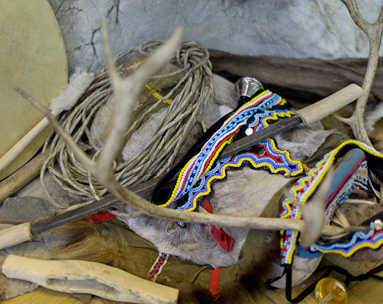 Everyday items used by the indigenous peoples