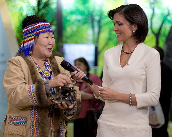 A Yakutian indigenous peoples representative
