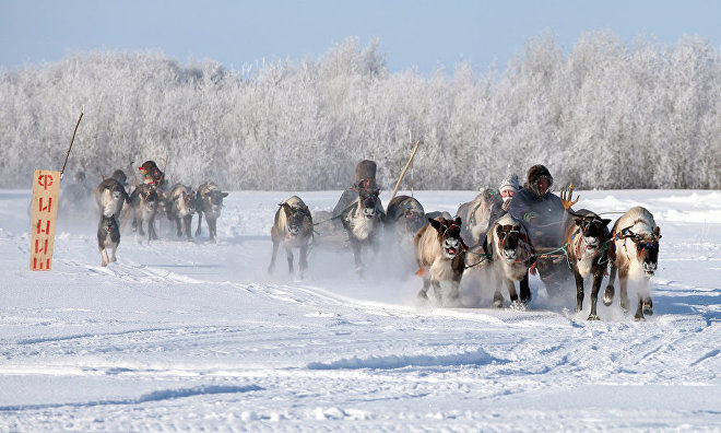 17th Spartakiade held in Vorkuta