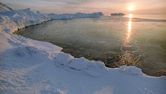 Polar night ends on Franz Josef Land