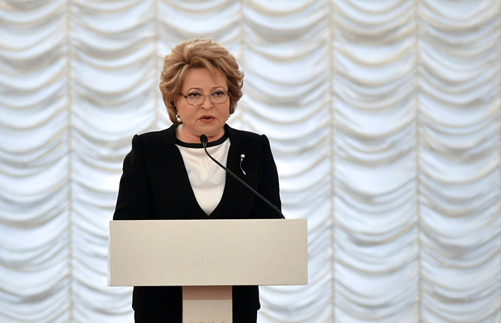 Matvienko: We need a special comprehensive federal law on Russian Arctic zone development