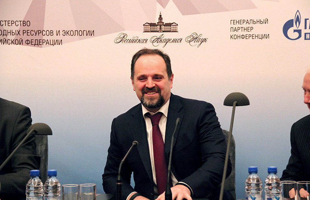 Russian Minister of Natural Resources and Environment Sergei Donskoi