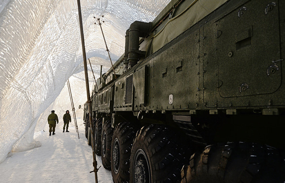 Defense Ministry: 15 facilities to be built on Novaya Zemlya by yearend