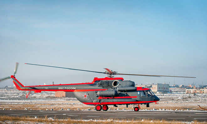 Russian Armed Forces receive Arctic helicopter