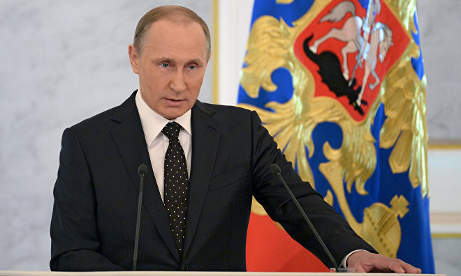 Putin: Northern Sea Route to link Europe, Asia