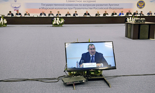 Rogozin calls for updating border checkpoints on the Northern Sea Route