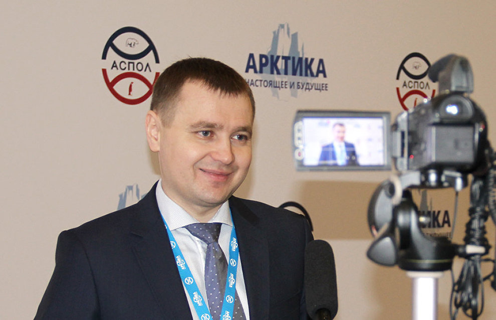 Russian Arctic National Park Director Roman Yershov interviewed by Arctic.ru at the fifth international forum, The Arctic: Present and Future