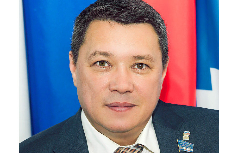 Chairman of the YaNAO Legislative Assembly Sergey Yamkin