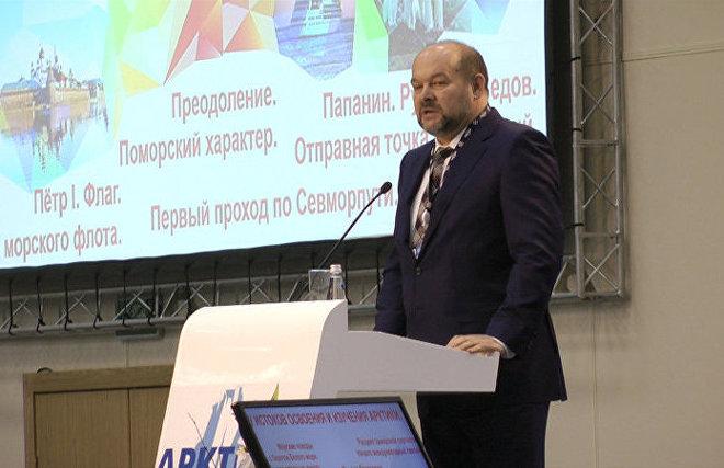 Arkhangelsk Region Governor Igor Orlov