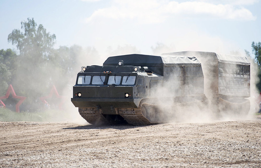 Northern Fleet's Arctic brigade armed with new all-terrain vehicles