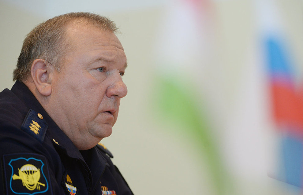 Russian Airborne Troops Commander Vladimir Shamanov