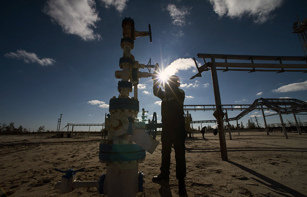 Oil production in the Nenets Autonomous Area up 6.4 percent in 2015