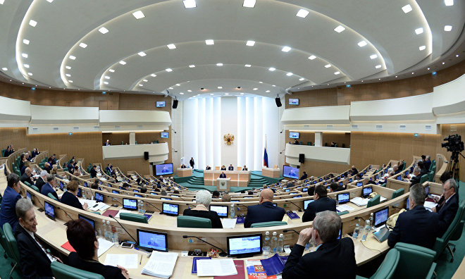 Federation Council recommends to set up orbital satellite communication Arctic group