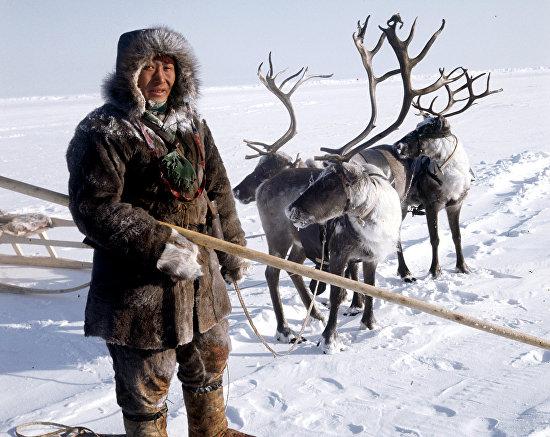 A reindeer breeder from Evenkia