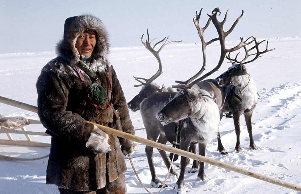A reindeer breeder from Evenkia