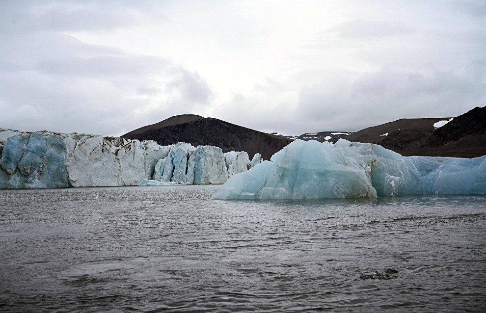 Scientists discover snow algae speeding up Arctic glacier melting