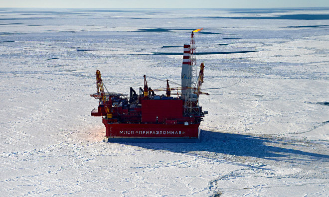 Oil production at Prirazlomnoye field grows 150% in 2015