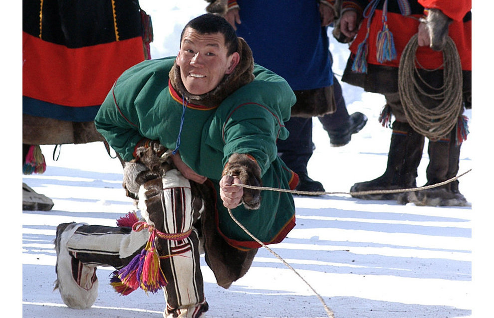 Competitions on Reindeer Herders' Day