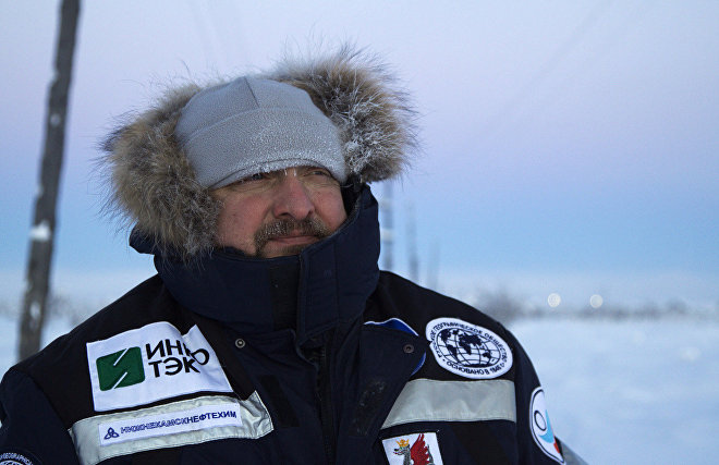 Dmitry Schiller, Head of the Russian Geographical Society's Alexei Leonov Underwater Research Team