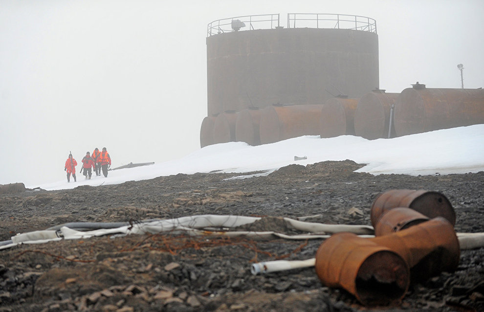 Cleanup to continue at Russian Arctic National Park