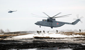 Russian Airborne Forces, CSTO troops to land in the Arctic in April 2016
