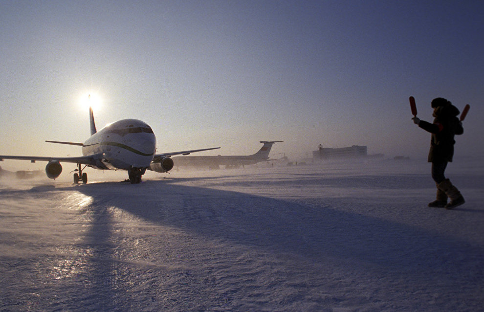Nagurskaya Arctic airfield on Alexandra Land Island gets all-weather runway