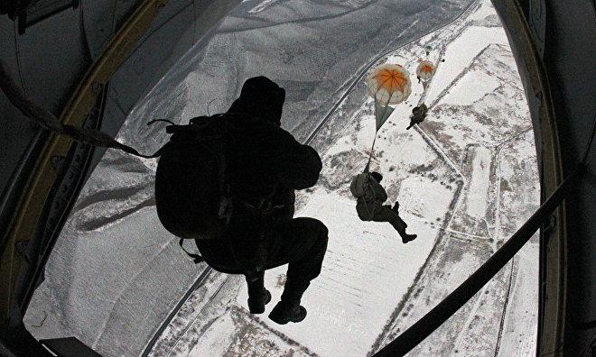CSKA Paraboys to jump on the North Pole