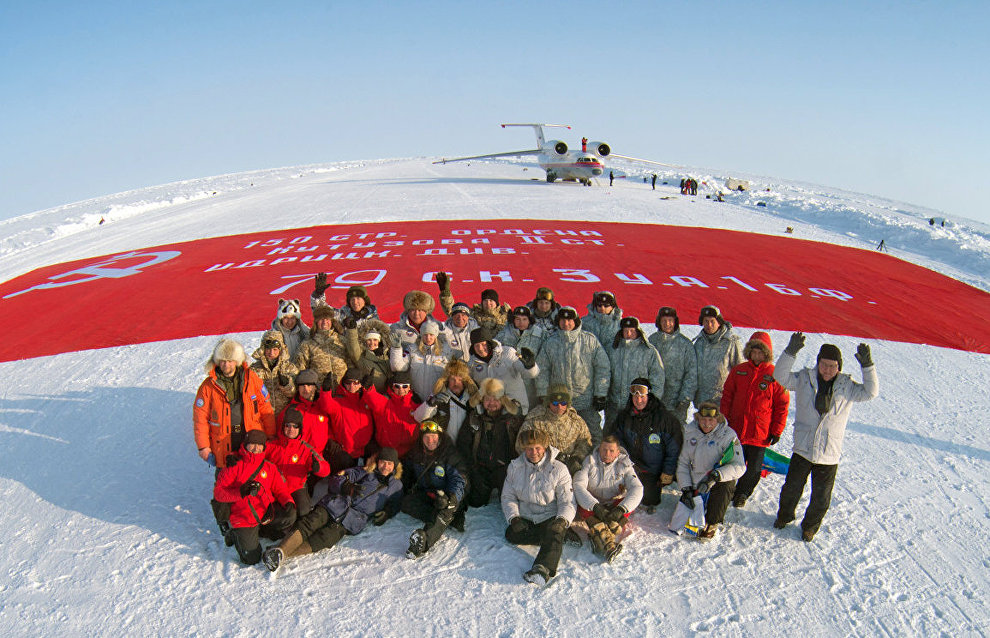 The Вiggest Victory Banner on the Earth's North Pole: Results of the peacemaking mission analyzed in Moscow