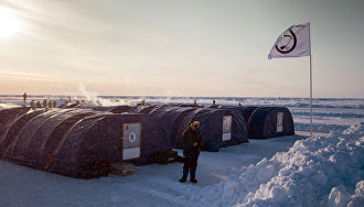 Barneo Ice Camp: A drifting polar research facility