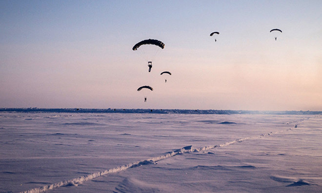 Arctic hosts first international precision landing competition