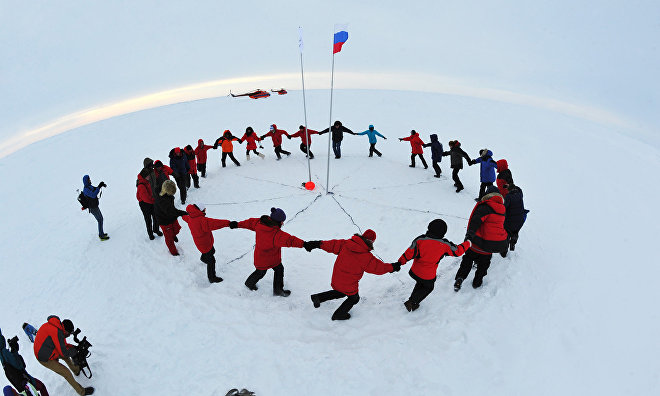 "Photo exhibition ""Challenging the North Pole"" to run in Moscow"