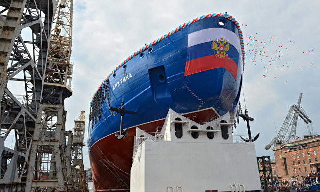 New Rosatom engine for the Arktika, the world's most powerful nuclear icebreaker
