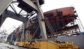 Nuclear icebreaker Ural laid down in St. Petersburg