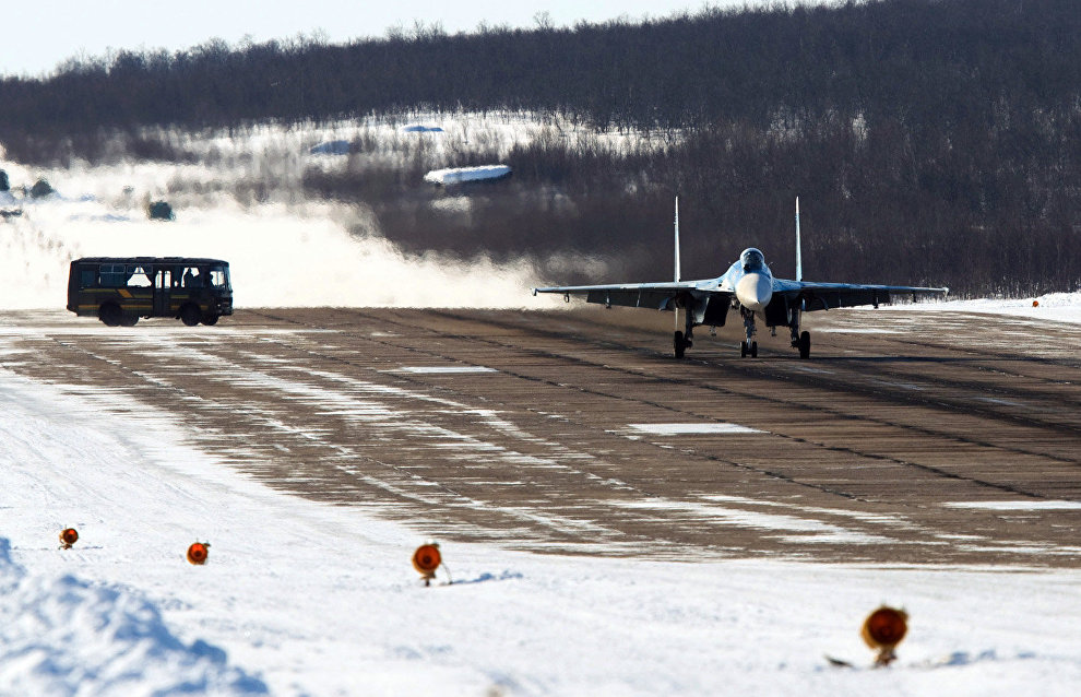 В Арктике ведётся реконструкция десяти аэродромов