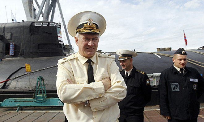 Vice-Admiral Yevmenov: Defense Ministry's facilities in the Arctic almost 100 percent ready
