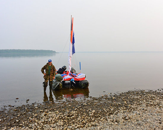 Where Thames Meets Yenisei expedition