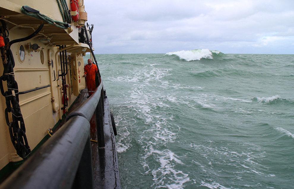 Storm on the Kara Sea