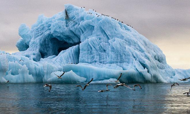 «Роснефть» опробует технологию изменения траектории движения айсбергов в Арктике