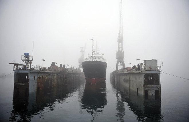 Гидрографическое судно Северного флота уточнило границы шельфа России в Арктике