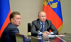 Владимир Путин дал старт запуску в промышленную эксплуатацию Восточно-Мессояхского месторождения