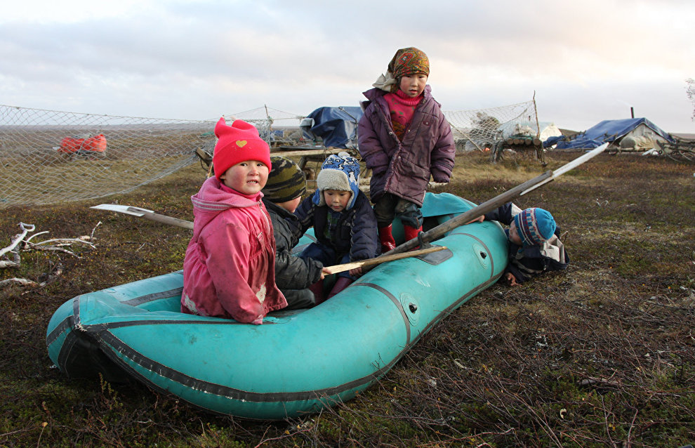 A reindeer-herding community on the Kanin Peninsula