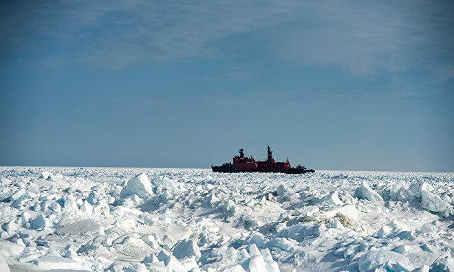 Russia starts designing a super-icebreaker