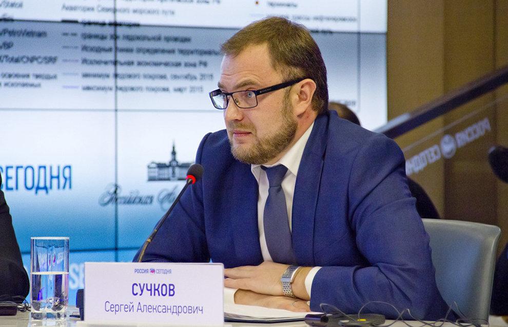 Rosgeologia Deputy Director General Sergei Suchkov
