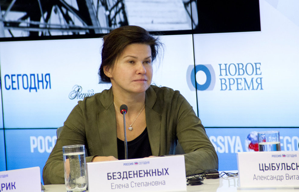 Vice President – State Secretary, Head of the Sector of Cooperation with Authorities and Management of Norilsk Nickel Yelena Bezdenezhnykh