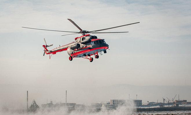 Russian Navy receives first Mi-8AMTSh-VA Arctic helicopter