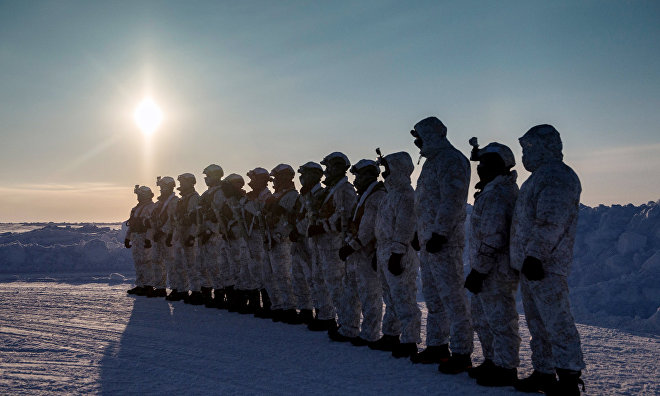 Russia to oppose confrontation in the Arctic