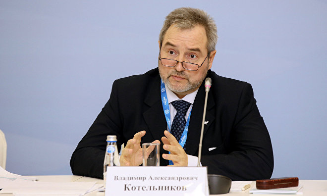 Head of the Research and Innovation Section at the Kola Research Center of the Russian Academy of Sciences Vladimir Kotelnikov