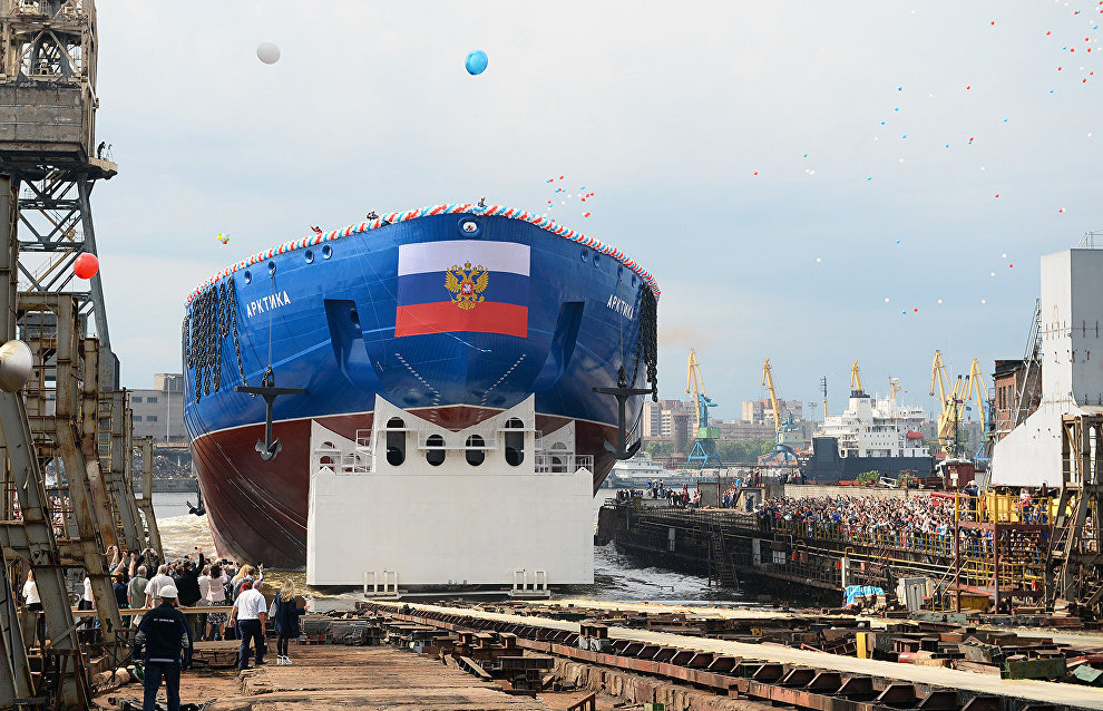 Atomflot: Arktika icebreaker will not be completed before 2018